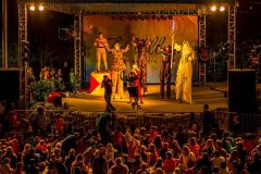 TheVillage-Stilt-Circus-Stage